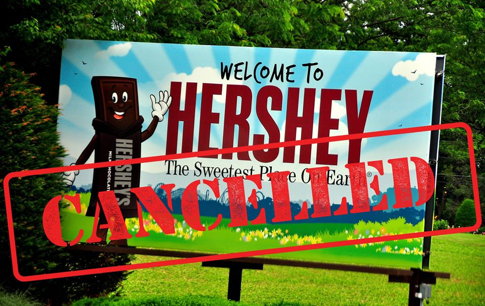 Annual Fall Meeting in Hershey, PA, Cancelled